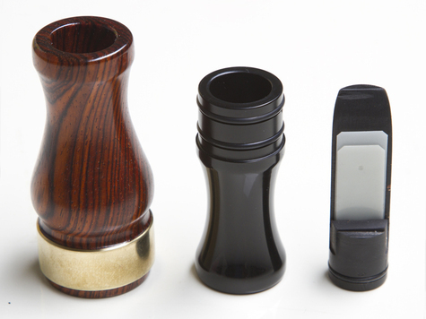 Манок на утку Riceland Custom Calls Duck Call Cocobola Wood